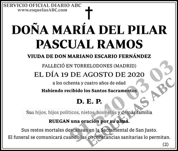 María del Pilar Pascual Ramos