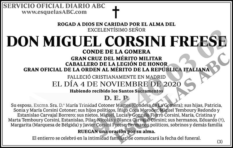 Miguel Corsini Freese