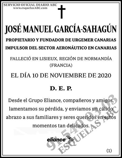 José Manuel García-Sahagún