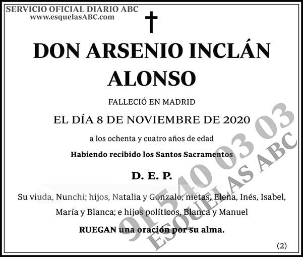 Arsenio Inclán Alonso