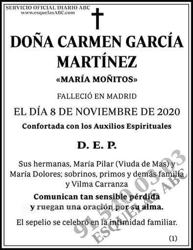 Carmen García Martínez