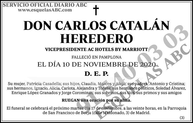 Carlos Catalán Heredero