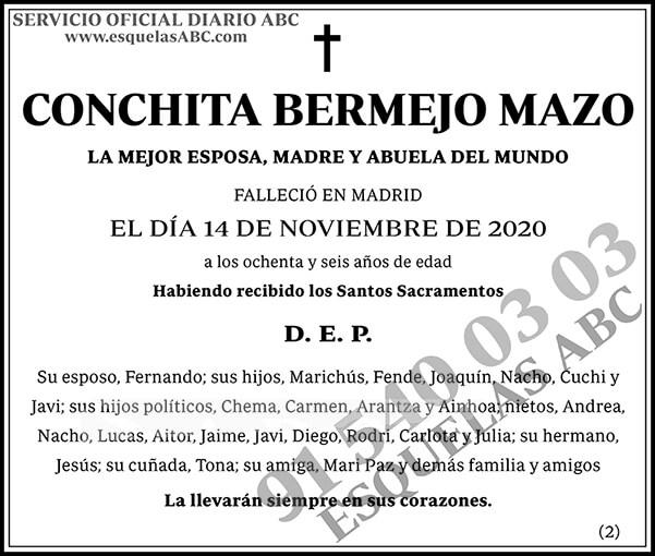 Conchita Bermejo Mazo