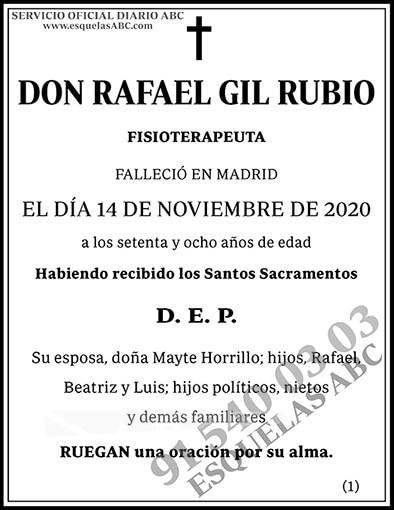 Rafael Gil Rubio