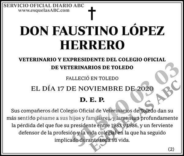 Faustino López Herrero