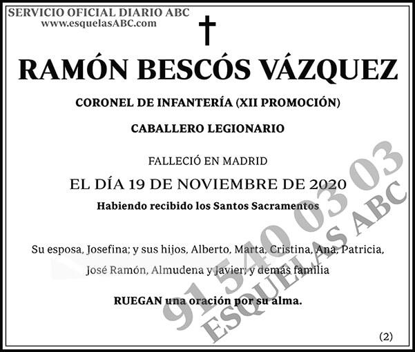 Ramón Bescós Vázquez