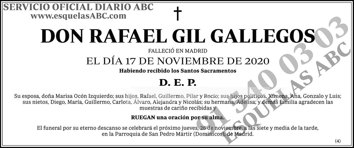 Rafael Gil Gallegos