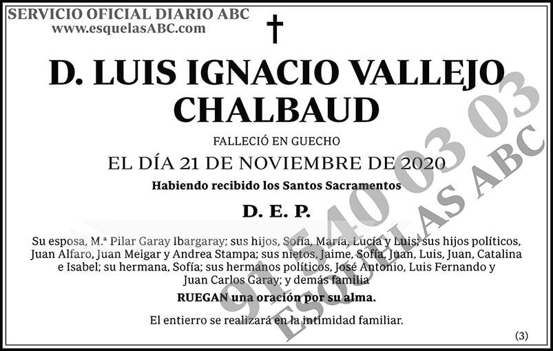 Luis Ignacio Vallejo Chalbaud