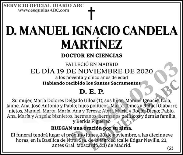 Manuel Ignacio Candela Martínez