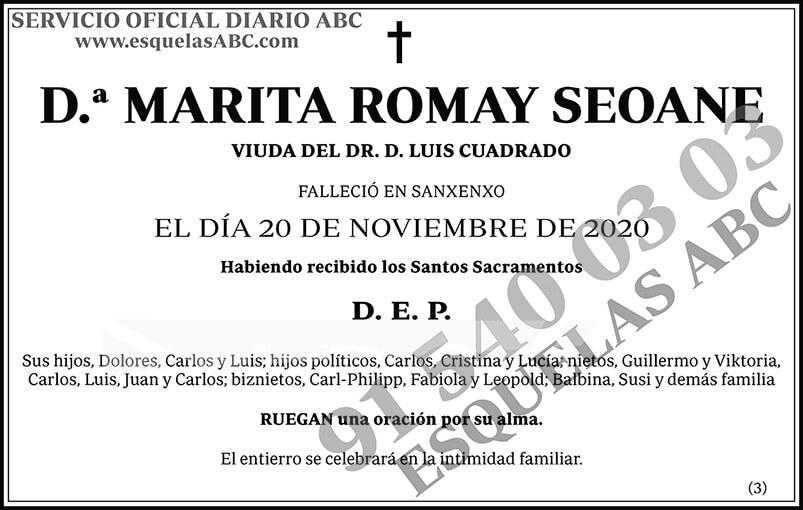 Marita Romay Seoane