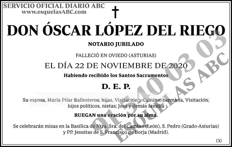 Óscar López del Riego