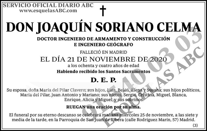 Joaquín Soriano Celma