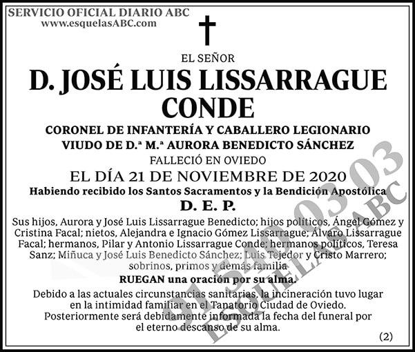 José Luis Lissarrague Conde