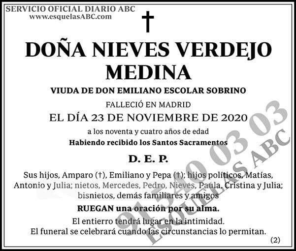 Nieves Verdejo Medina