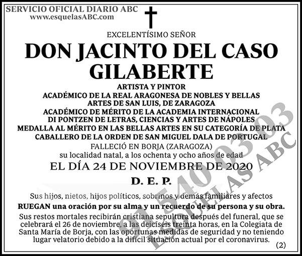 Jacinto del Caso Gilaberte