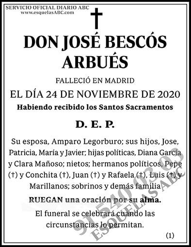 José Bescós Arbués