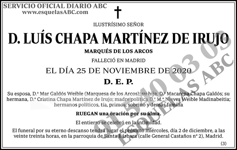 Luís Chapa Martínez de Irujo