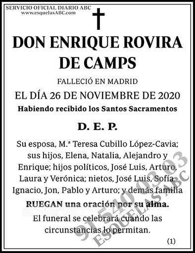 Enrique Rovira de Camps
