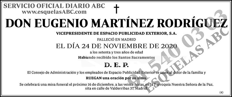 Eugenio Martínez Rodríguez