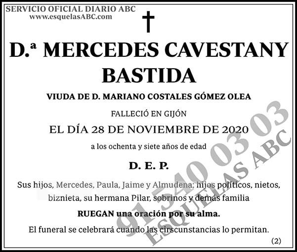 Mercedes Cavestany Bastida