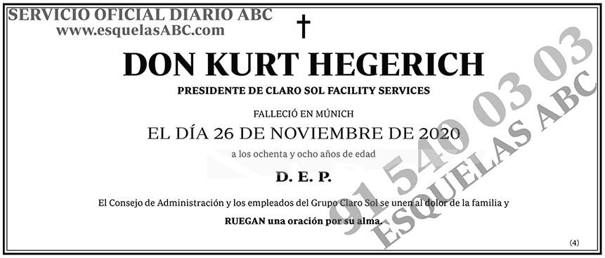 Kurt Hegerich