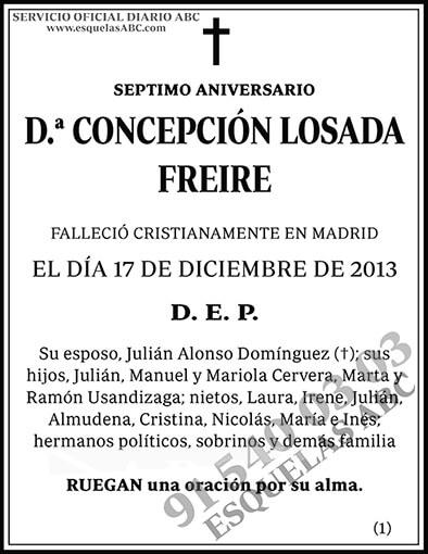 Concepción Losada Freire