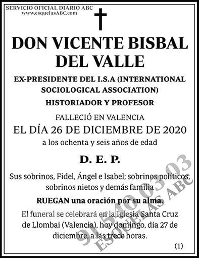 Vicente Bisbal del Valle