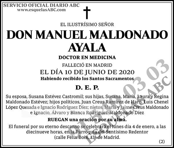 Manuel Maldonado Ayala