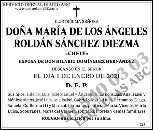 María de los Ángeles Roldán Sánchez-Diezma
