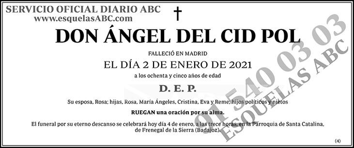 Ángel del Cid Pol