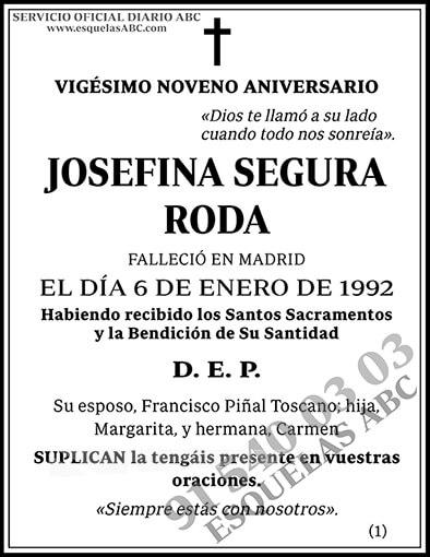 Josefina Segura Roda