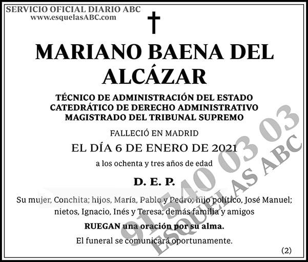 Mariano Baena del Alcázar