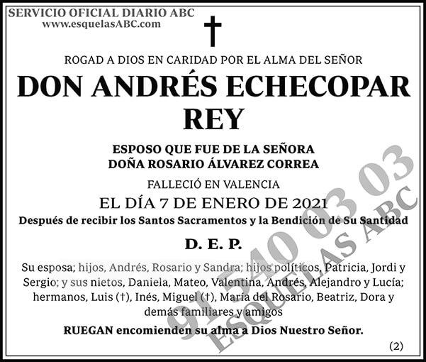 Andrés Echecopar Rey
