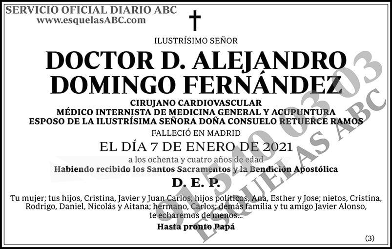 Alejandro Domingo Fernández