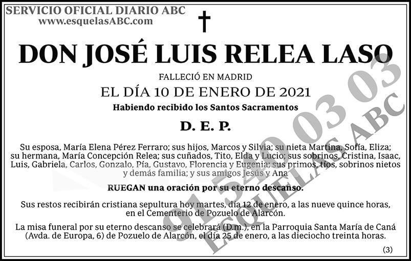 José Luis Relea Laso