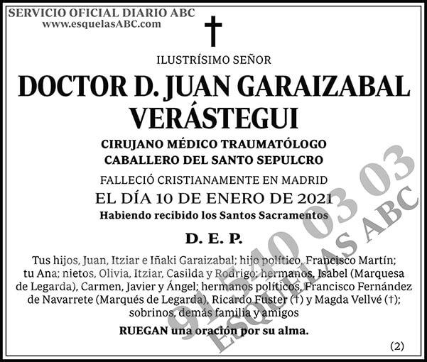 Juan Garaizabal Verástegui