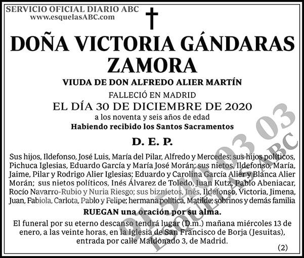 Victoria Gándaras Zamora
