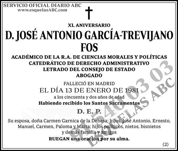 José Antonio García-Trevijano Fos