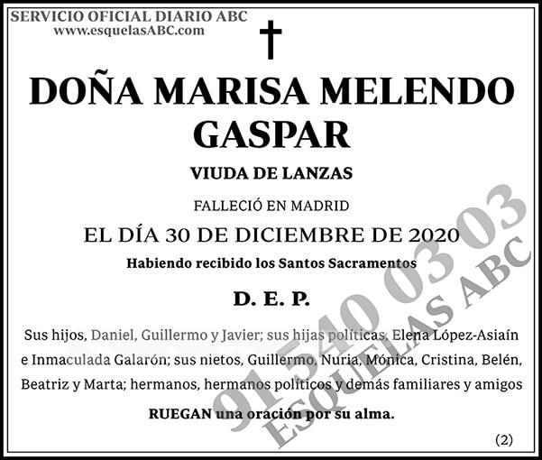 Marisa Melendo Gaspar