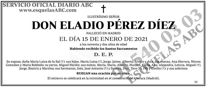 Eladio Pérez Díez