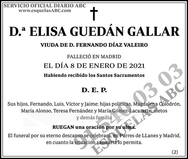 Elisa Guedán Gallar
