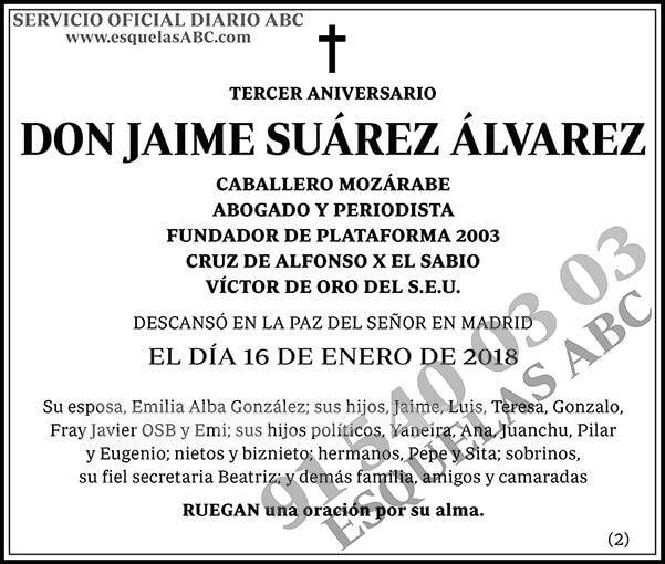 Jaime Suárez Álvarez