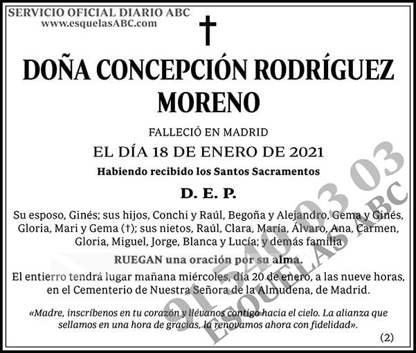 Concepción Rodríguez Moreno