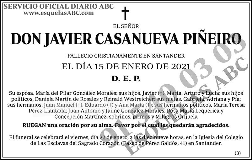 Javier Casanueva Piñeiro