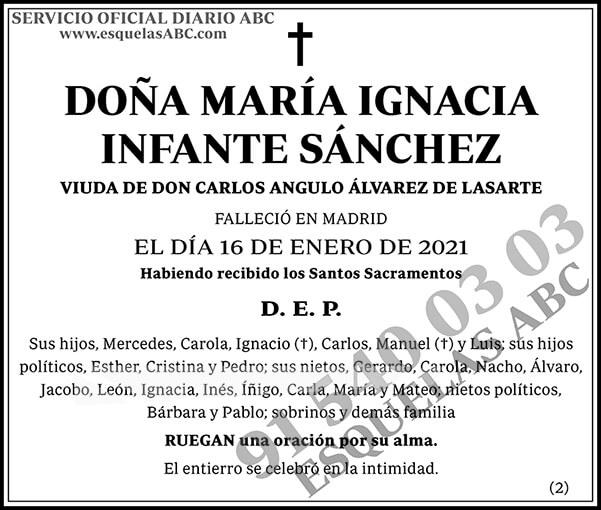 María Ignacia Infante Sánchez