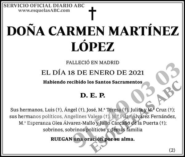 Carmen Martínez López