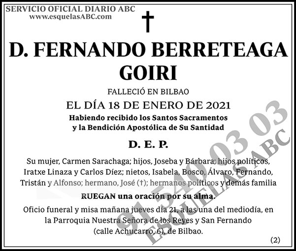 Fernando Berreteaga Goiri