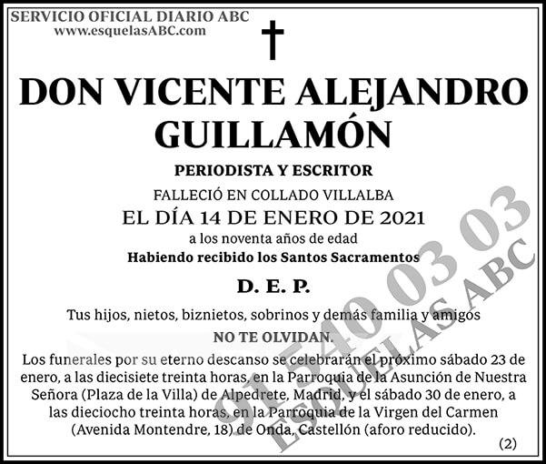 Vicente Alejandro Guillamón