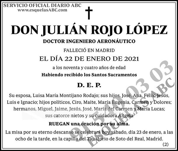 Julián Rojo López