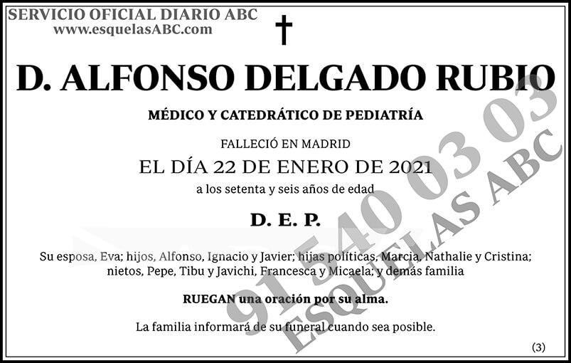 Alfonso Delgado Rubio